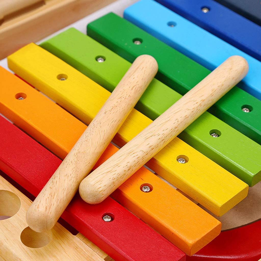 ZYN Child Percussion Instrument Combination Enlightenment Early Education Wooden Educational Toy by ZYN (Image #5)