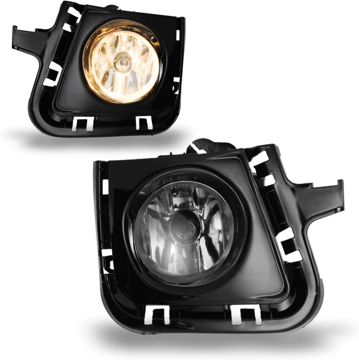 Fog Lights Fit for 2012-2014 Toyota Prius C With Clear Lens 2PCS AUTOWIKI