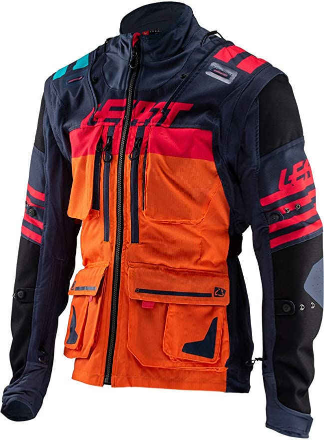 Leatt GPX 5.5 Enduro Riding Jacket-Ink/Orange-M