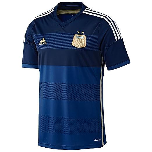 bc238f5d682 Amazon.com   Adidas Argentina Away Jersey  PRIINK CONAVY LGFOGO ...