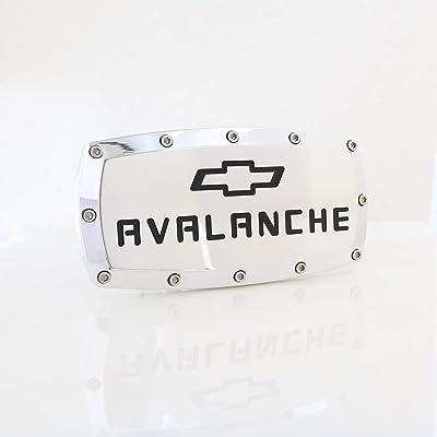 Chevrolet Avalanche Billet Aluminum Tow Hitch Cover: Automotive