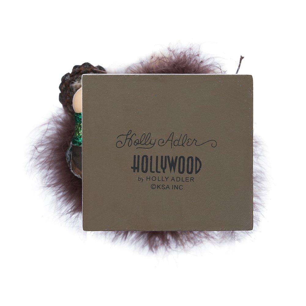 16-Inch Kurt Adler Hollywood Owl Hat Woodsman Nutcracker