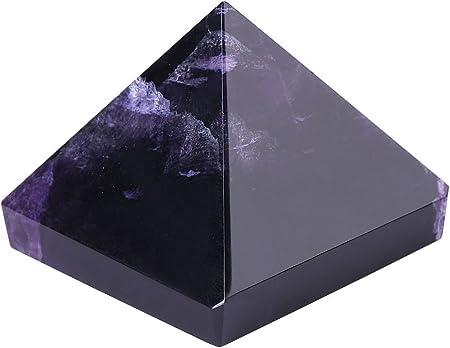 ♠ En cierto modo, esta figura piramidal de cristal representa la buena fortuna y la mejor suerte en