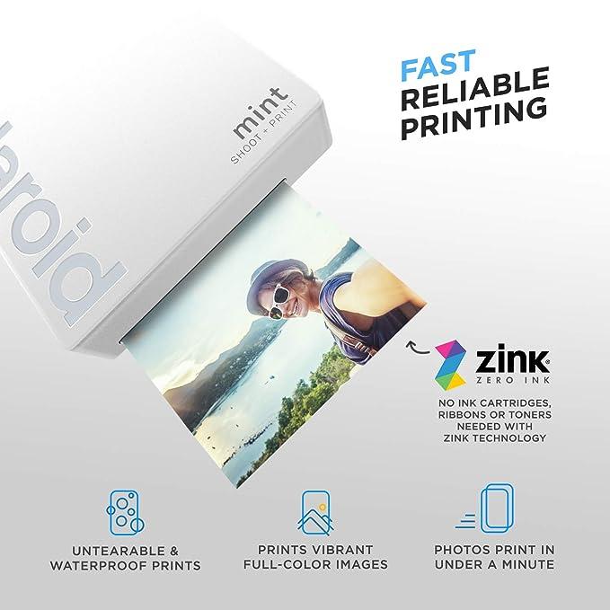 Amazon.com: Polaroid Mint Cámara instantánea con tecnología ...