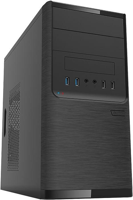 UNYKAch Dark Shadow Torre Negro 500 W - Caja de Ordenador (Torre ...