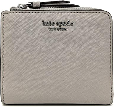 Image result for KATE SPADE SMALL 1-ZIP BIFOLD WALLET CAMERON SOFT TAUPE