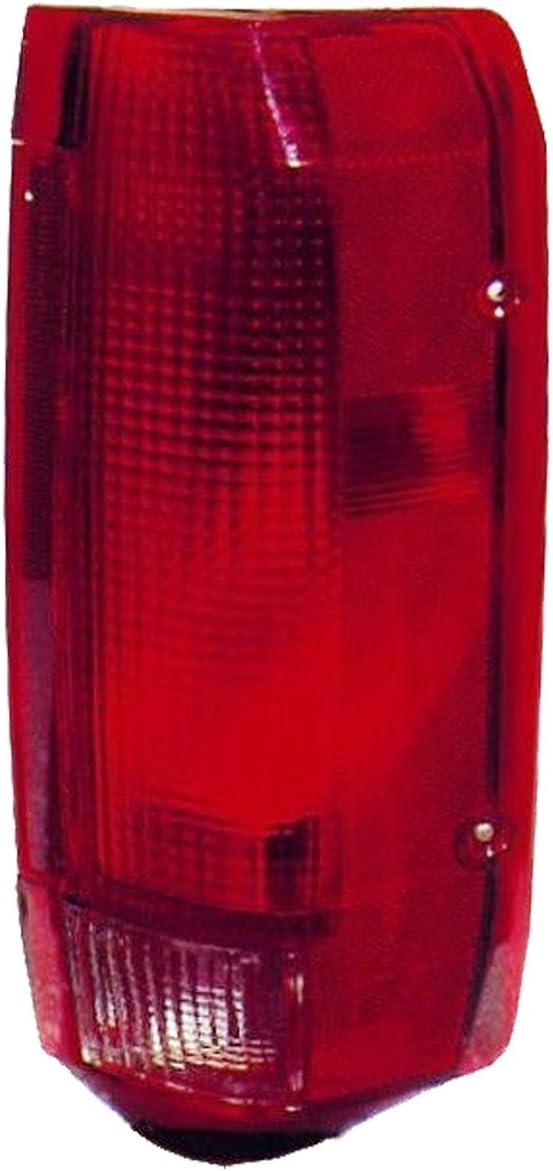 QP F7184-a Ford F-250 Super Duty Passenger Tail Light Lens /& Housing