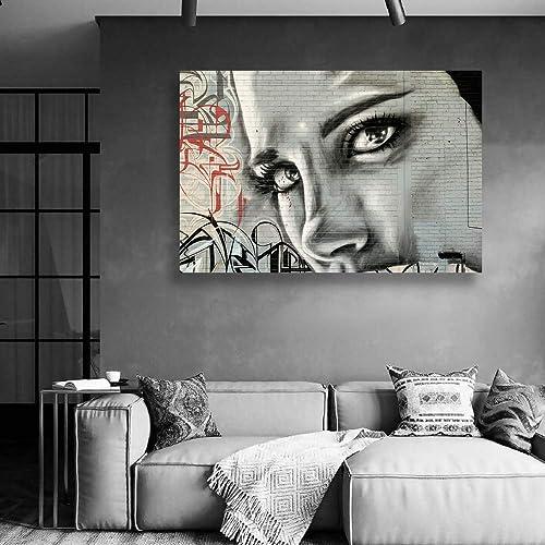 signwin Canvas Wall Art Creative Graffiti Canvas Prints Home Artwork Decoration