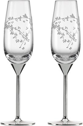 kate spade new york® Gardner Street Pair of Champagne Flutes | Herberger's