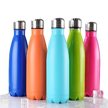 Amazon.com: Bayzon – Botella de agua aislada al vacío ...