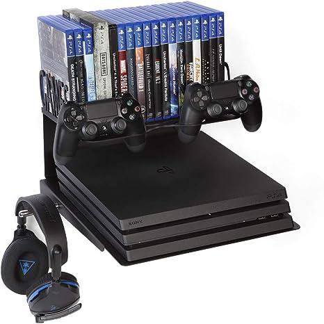 Borangame Soporte de Pared para Playstation 4 Normal / PS4 Pro / PS4 Slim Y Xbox 360 / One/