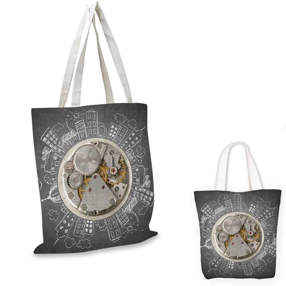 激安直営店 ClockA ビンテージスタイルの時計セット アンティークテーマのデザインのアンバーとベージュのオールドファッションパターン 13