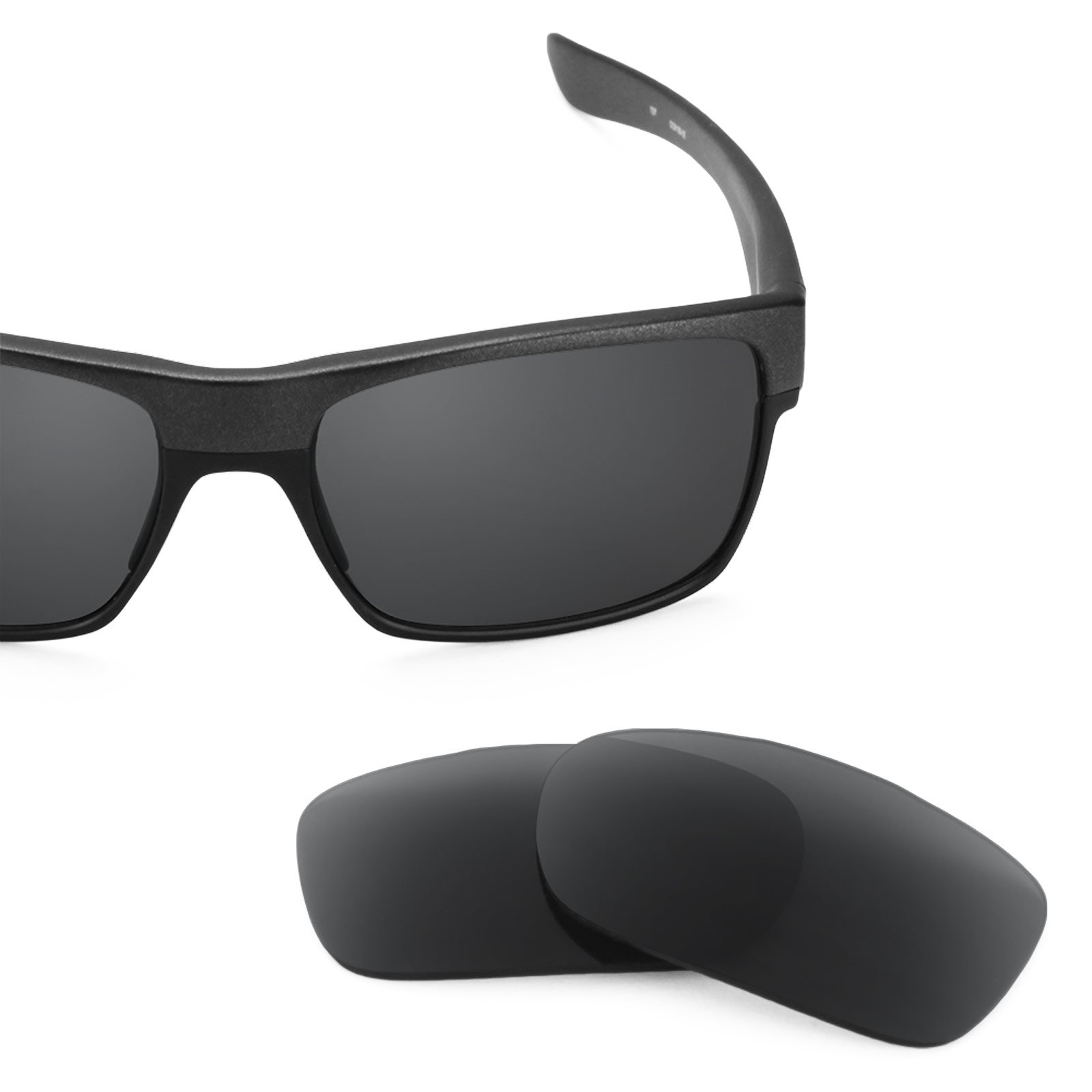 Revant Polarized Replacement Lenses for Oakley TwoFace Stealth Black