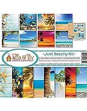 Ella & Viv by Reminisce Scrapbook Ella and Viv Just Beachy Collection Kit