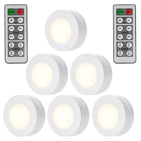 Solled wireless led puck lights closet lights with remote control solled wireless led puck lights closet lights with remote control battery powered dimmable kitchen aloadofball Gallery