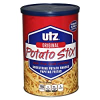 Deals on Utz Potato Stix Original 15oz Canister Shoestring Potato Sticks