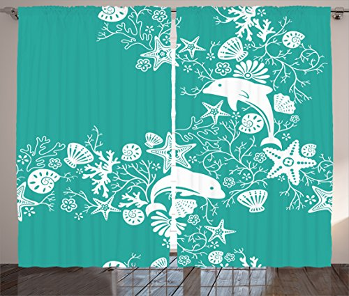 sea-animals-decor-curtains-by-ambesonne-dolphins-and-flowers-sea-floral-pattern-starfish-coral-seash