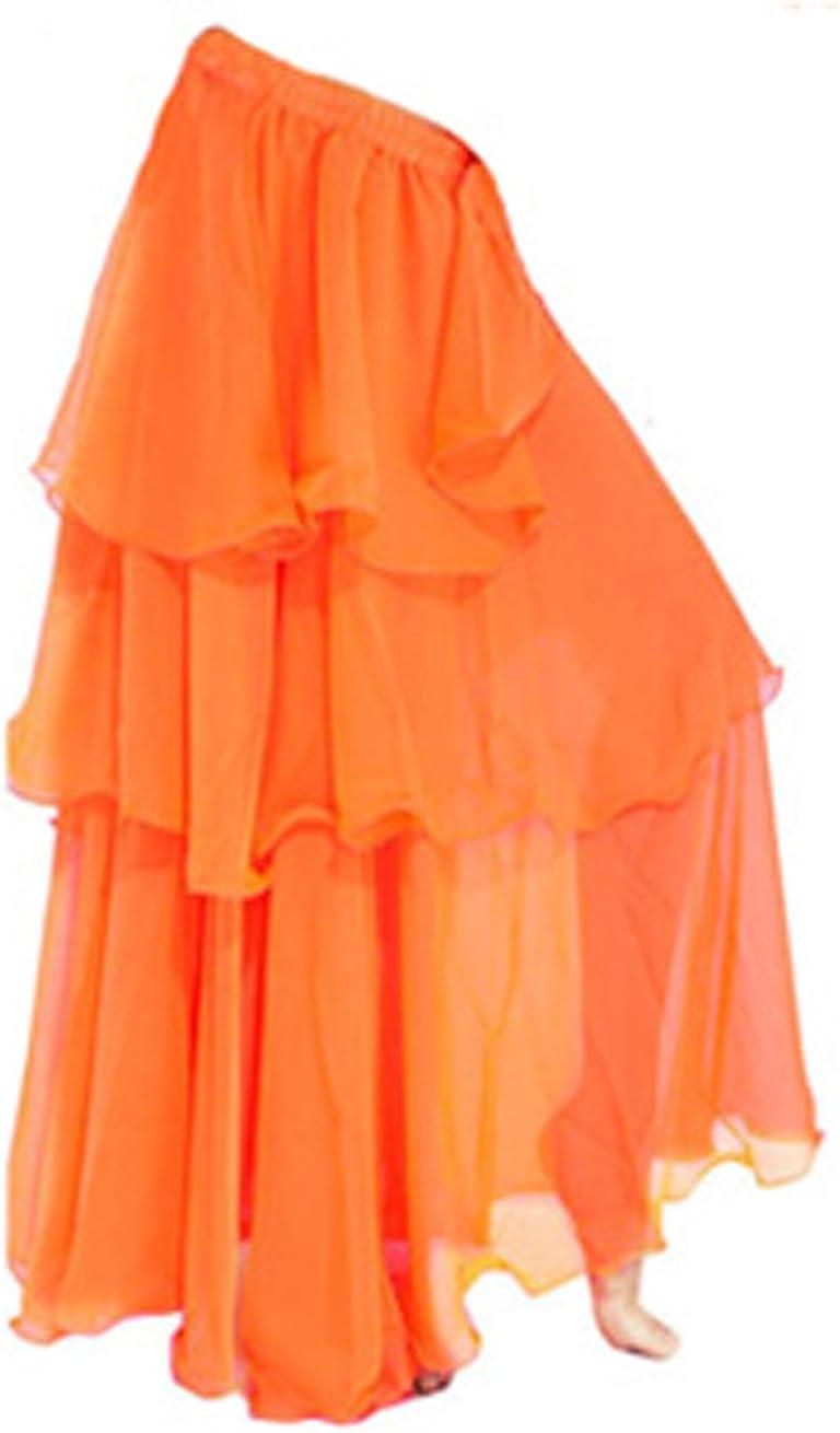 A-Express - Falda larga, Tres capas, para bailar samba, danza del ...
