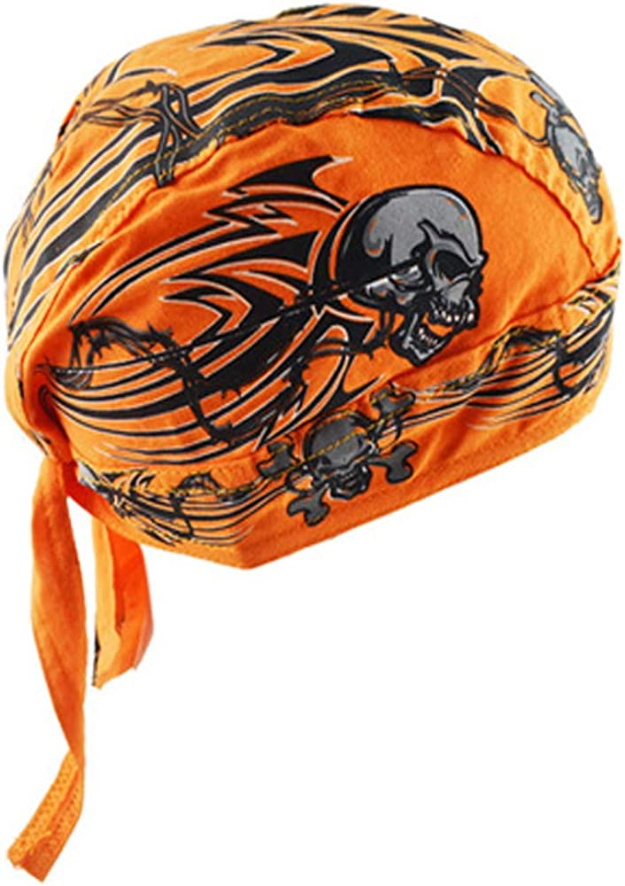 Skull Caps Biker Cycling Caps Hat Running Mask Bandana Headwraps for Women Men