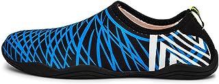 CAI Mens Womens Water Shoes 2018 Printemps Et Été Nouvelle Adulte Plage Chaussures Hommes Et Femmes Wading Anti-dérapage Plongée Enfants Plongée en apnée Chaussures (Couleur : F, Taille : 43)