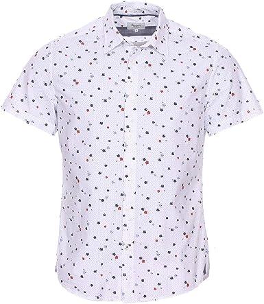 Pepe Jeans Camisa Bryan Blanca Hombre: Amazon.es: Ropa y ...