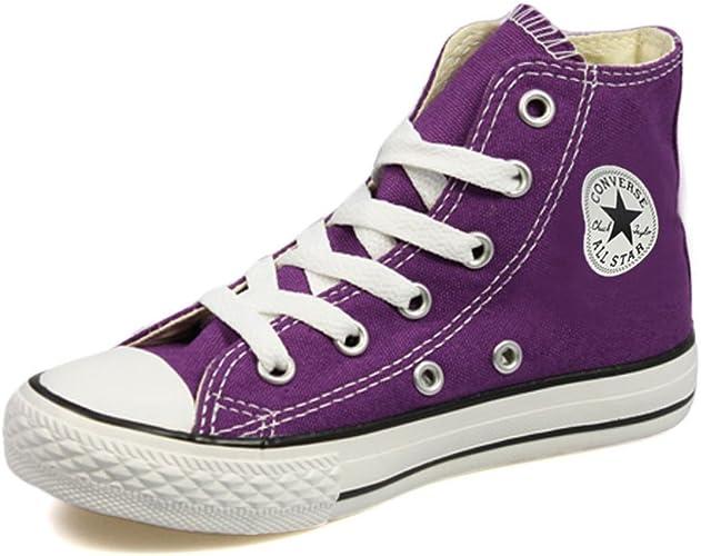 childrens purple converse high tops