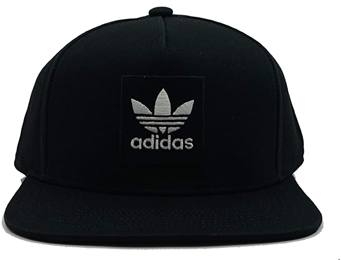 534a42963c6 adidas Men Originals Two-Tone Trefoil Snapback Hat Black DH2568 OSFW at  Amazon Men s Clothing store