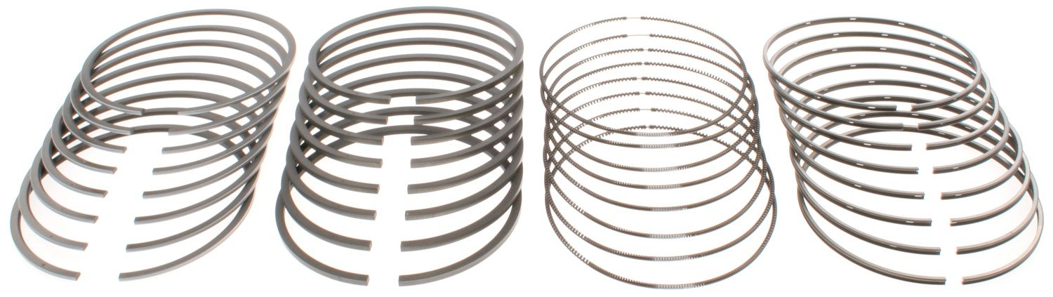 MAHLE Original 41909 Chevrolet/GMC 6.6L Duramax LB7, LLY, LBZ, & LMM Standard Piston Ring Set, 8 Pack by Mahle