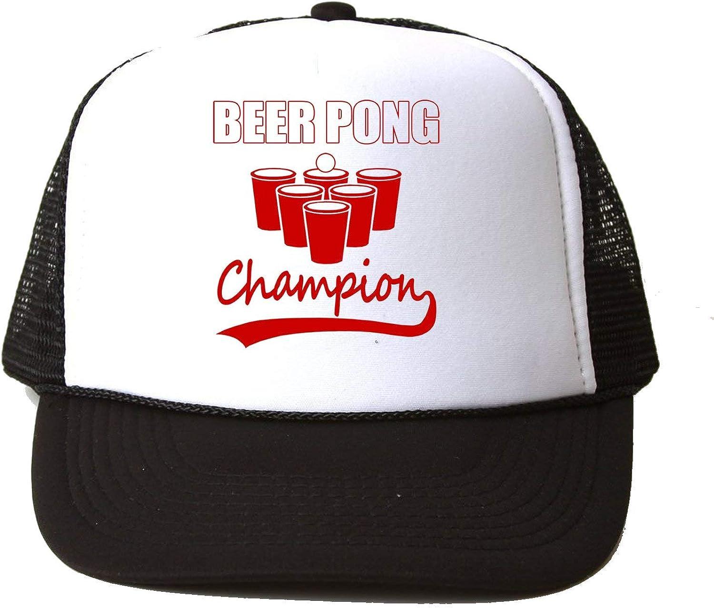 Beer Pong Champion Baseball Cap Hat Gorra Unisex