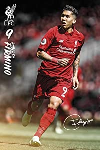 GB Eye Limited Liverpool FC Roberto Firmino 2019 Football Soccer Sports Cool Wall Decor Art Print Poster 24x36