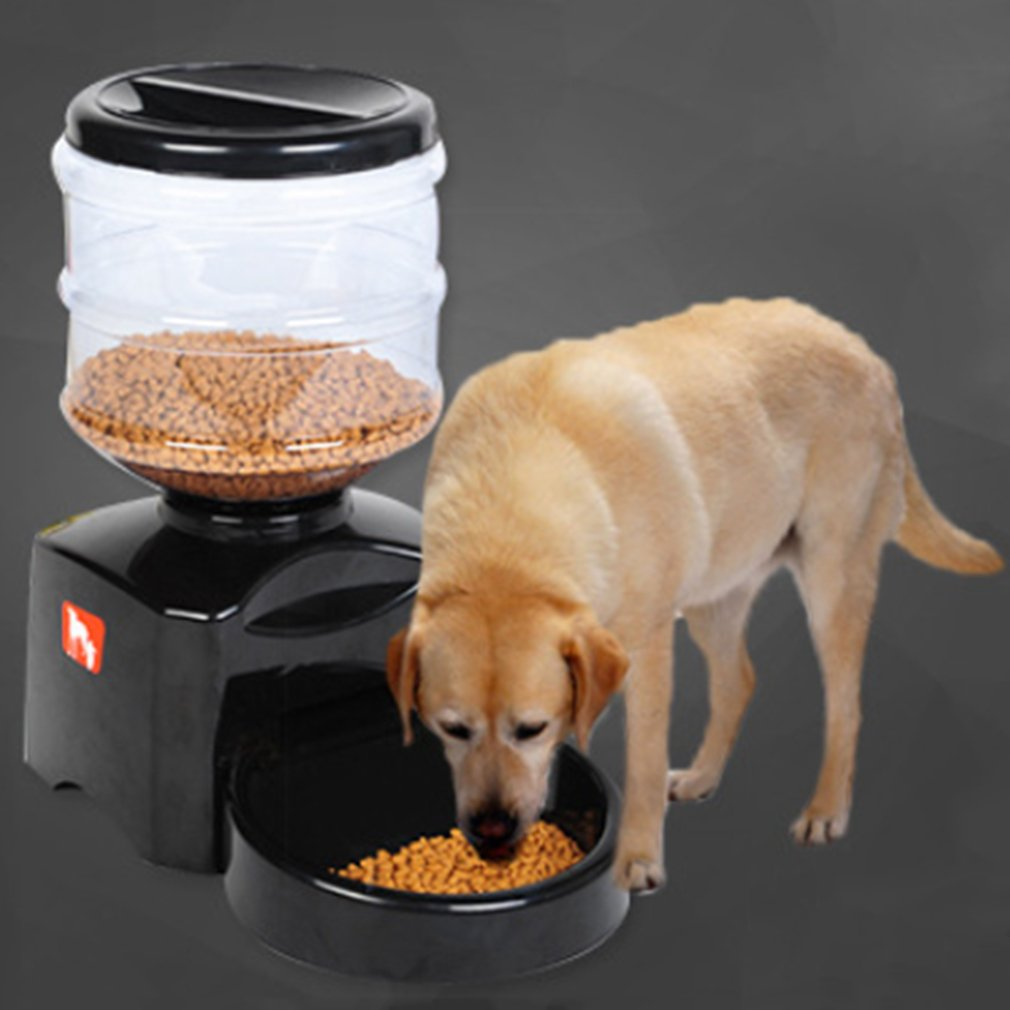 Yogasada 5.5L Automatic Pet Feeder with Voice Message Recording and LCD Screen