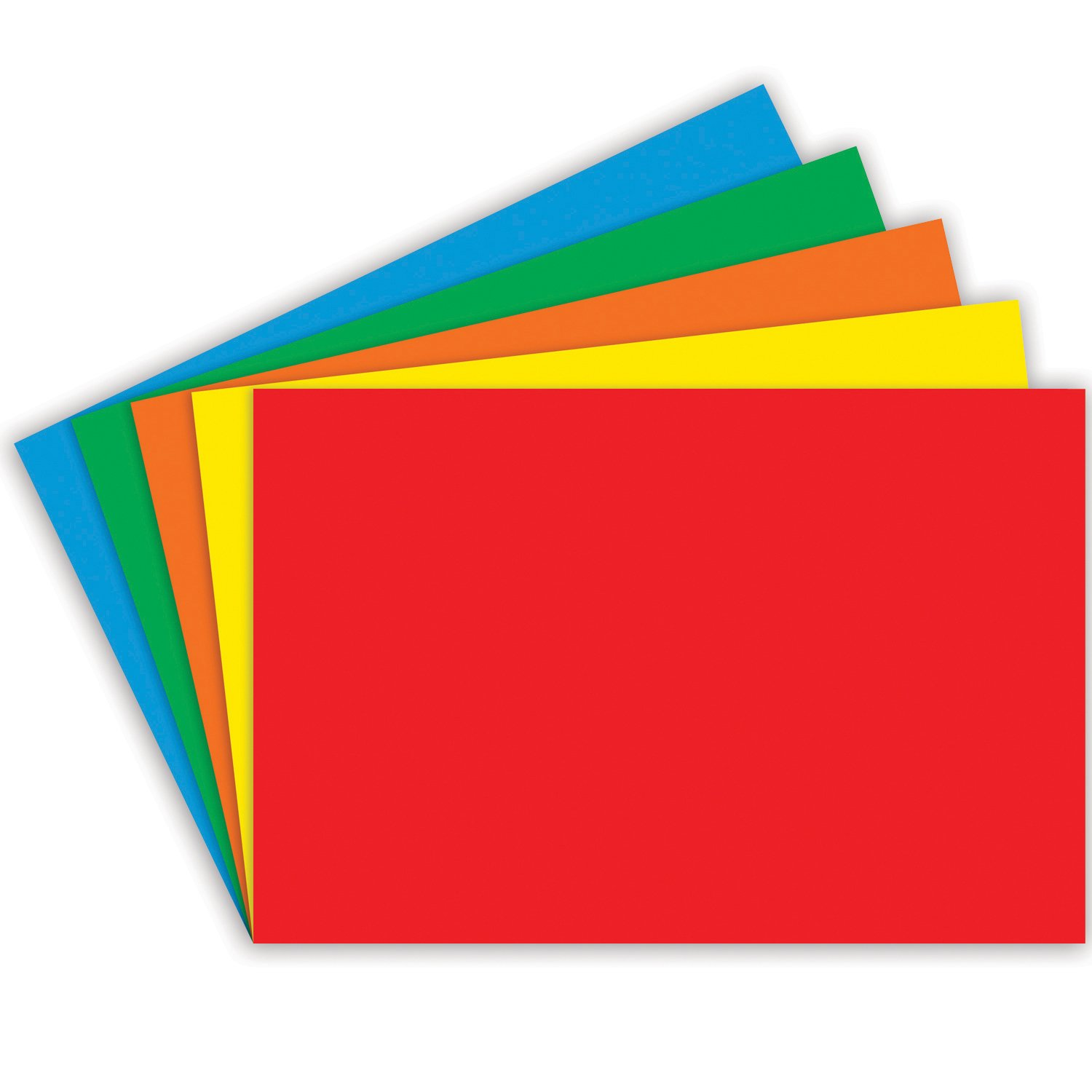Index Cards Blank 100Ct 5X8 Primary TOP NOTCH TEACHER PRODUCTS TOP3664