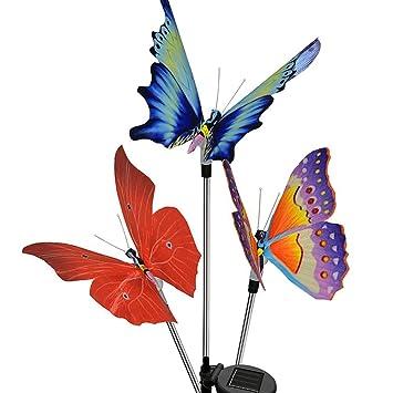 Superbe Garden Solar Lights Outdoor Decorative Stake Lights,ONEUPT Chameleon  Multi Color Changing LED Fairy
