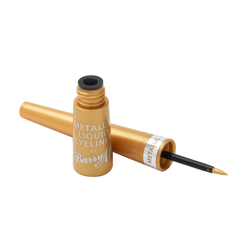 Barry M Cosmetics Metallic Liquid Eyeliner, Gold MLE5