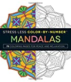 img - for Stress Less Color-By-Number Mandalas: 75 Coloring Pages for Peace and Relaxation book / textbook / text book
