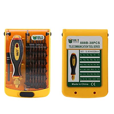 BST-888B Strong Magnetic Precision Screwdriver Set for Computer Laptop Repairing: Home Improvement [5Bkhe2006148]