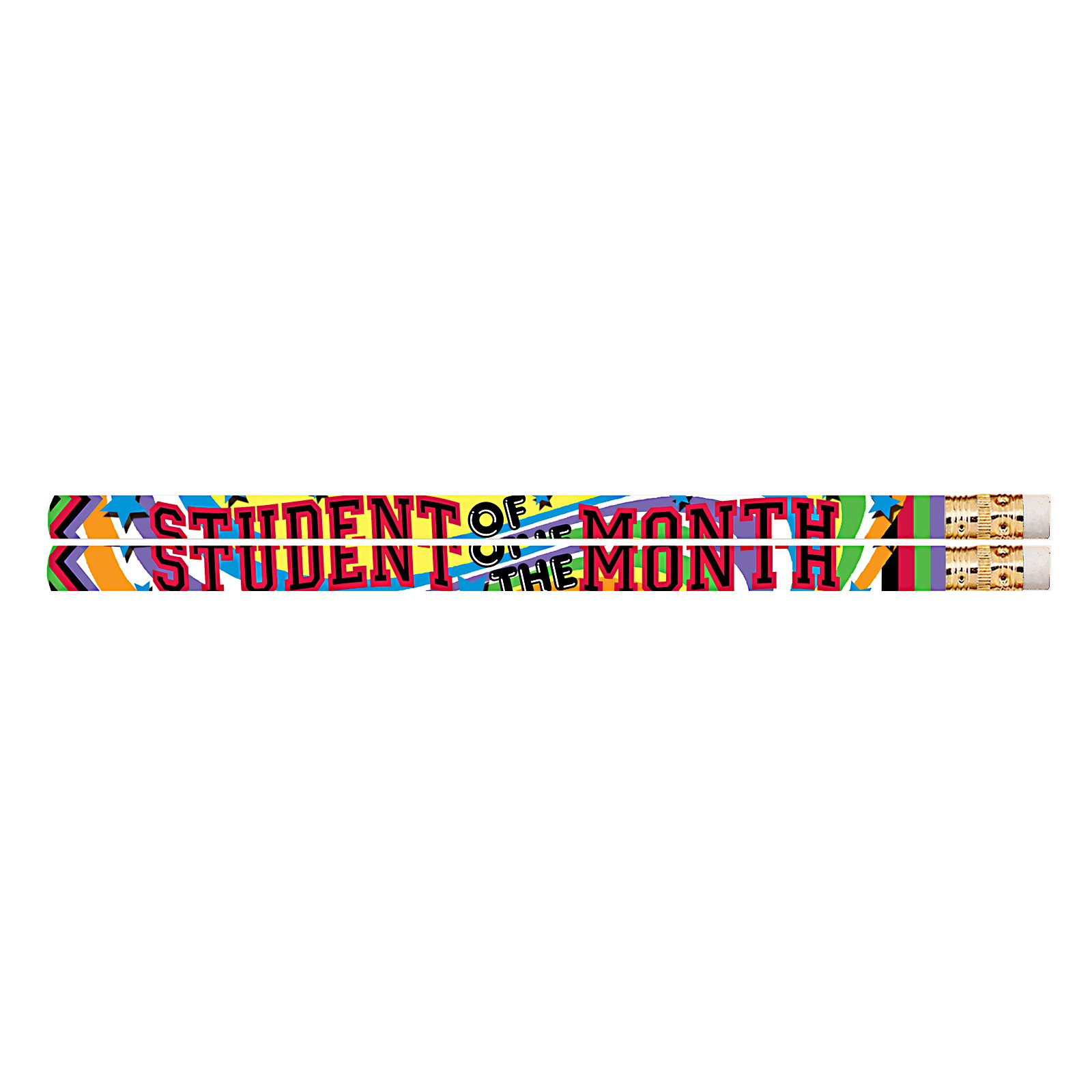 Musgrave Pencil MUS2475G Student of The Month Pencil (Pack of 144)