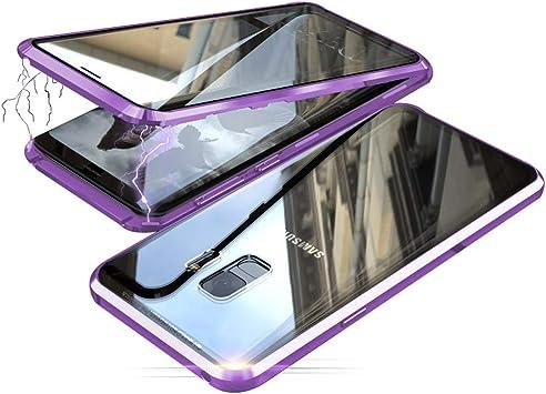 Jonwelsy Funda para Samsung Galaxy S9 Plus, Adsorción Magnética ...