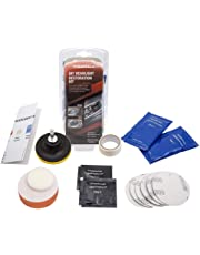 Mookis DIY Vehicle Headlight Restoration Kit, Heavy Duty Drill Based, Headlight Restore with UV Protection