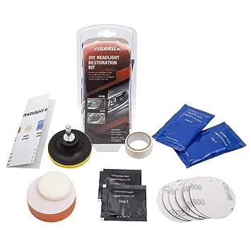 Scheinwerfer Reinigung Set mit Schutz UV-Schicht,arbeitet in 2 Minuten