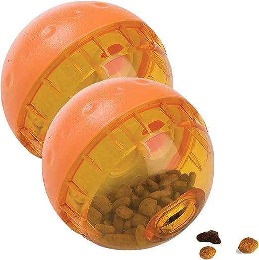 OurPets IQ Treat Ball - Pelota interactiva para dispensar ...