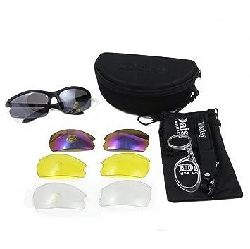 New Daisy C3 Militaire Tactique Sport Lunettes Lunettes de soleil 4 lentilles lunettes de soleil Lunettes de soleil Pêche Escalade Tir Marche KOKvQi