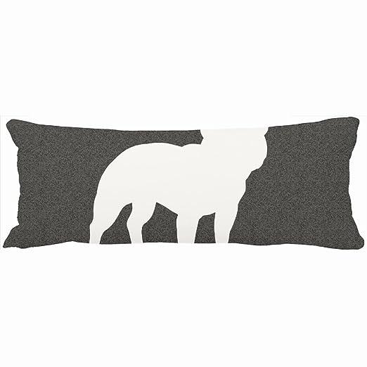 Cuerpo almohadas decorativo Bulldog Francés silueta único ...