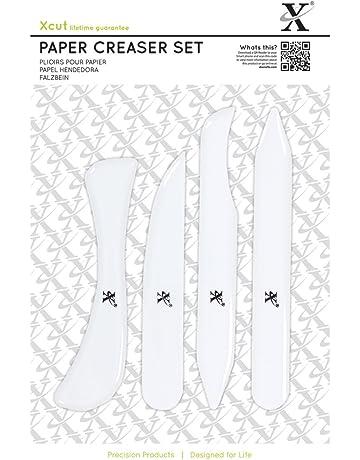 Xcut - Lote de 4 cortadores de papel (plástico)