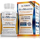 Dr. Tobias Ultimate Prebiotic - The Perfect Complement & Boost For Every Probiotics Supplement - Probiotic Booster PreforPro -