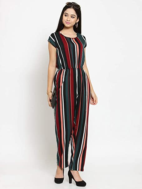 Jumpsuit For Womengirls Western Wear Stylish Printed