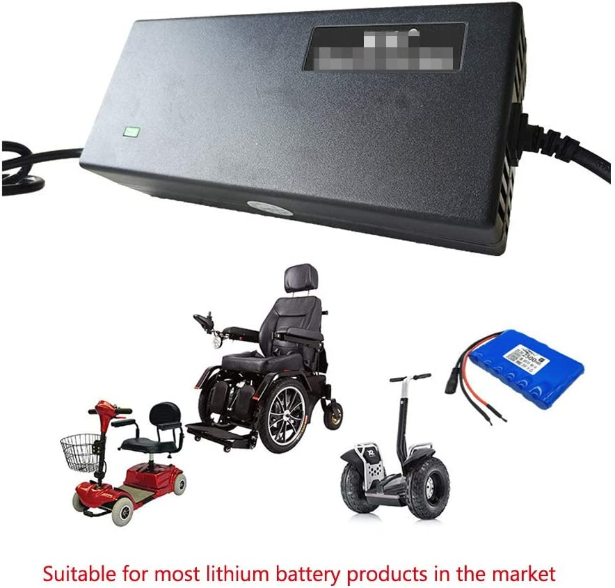 Default Aviation Plug Over Voltage Protection 2A 3A 4A 5A Optional Customizable Plug. 54.6V Power Adapter Automatic Power Off Electric Scooter Charger