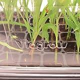 Viagrow VTD300-5 Clear Plastic Tall Dome