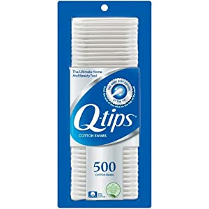 Q-tips Cotton Swabs 500 ea (Pack of 12)