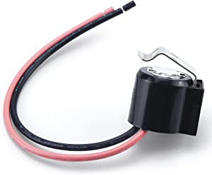 Siwakai W10225581 Refrigerator Bimetal Defrost Thermostat Replacement Part-Perfectly Fit for Whirlpool Refrigerators-Replaces WPW10225581 PS11750673 2149849